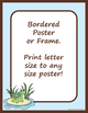 Borders or Frames – Editable – Coordinates with Turtle Time Classroom Theme
