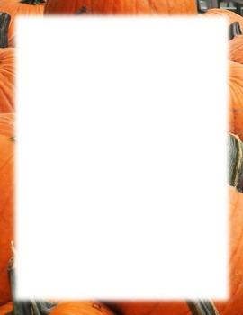 Borders-pumpkins