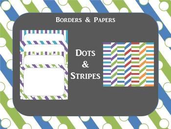 Border: Dots & Stripes