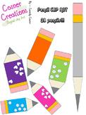Borders+Pencil Clipart!