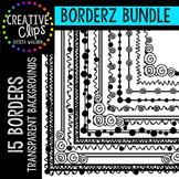 Borders Bundle 1 {Border Clipart}