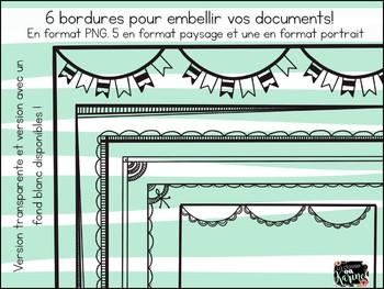Bordures - Ensemble #1