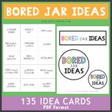 Bored Jar Ideas
