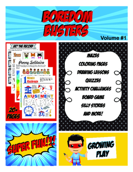Boredom Busters for Kids