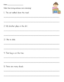 Boring/Interesting Sentences
