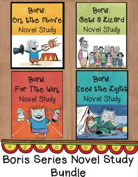 Boris Novel Study Bundle - Entire Series!