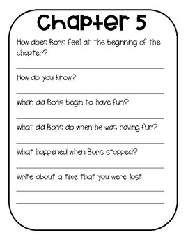 Boris: On The Move Novel Study (Book #1)
