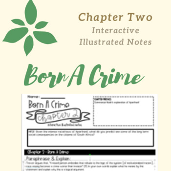 Born A Crime Chapter 2 Interactive Illustrated Notes