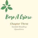 Born A Crime-  Chapter 3 Guided Reading Questions