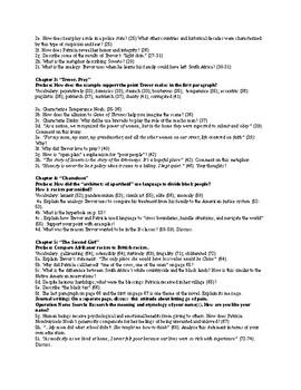 Born A Crime by Trevor Noah Study Guide Questions