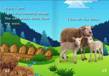 Animal Babies: Born On A Farm INTERACTIVE version