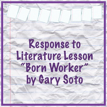 Born Worker by Gary Soto