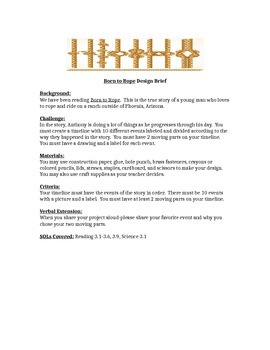 Born to Rope STEM Children's Engineering Design Brief
