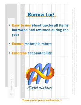 Borrow Log