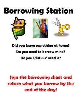 Borrowing Station