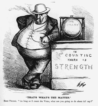 Progressive Era: Boss Tweed Writing Prompt and Political Cartoons