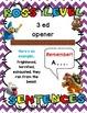 Boss level sentences - English sentences types to level up - Mario theme