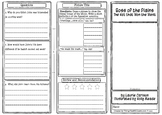 Boss of the Plains Comprehension Foldable