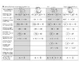 Brocci Bundle Algebra M: Solve Equations Inequalities & Systems MEGA Bundle