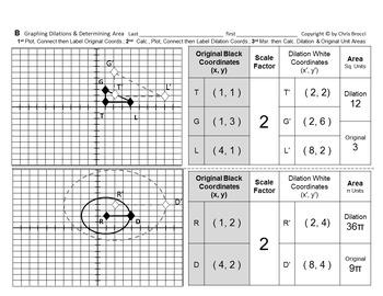 Brocci Bundles: Transformations - Dilations Bundle (12 L, 30 WS, 269 Problems)