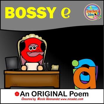 Bossy E / CVCe Pattern / Split Digraphs {Poem}