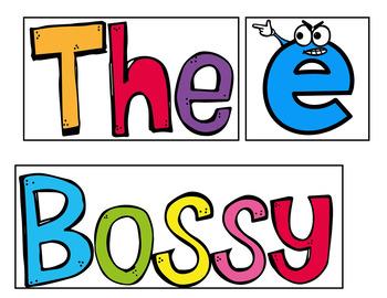 Bossy E (A Pocket Chart Activity)