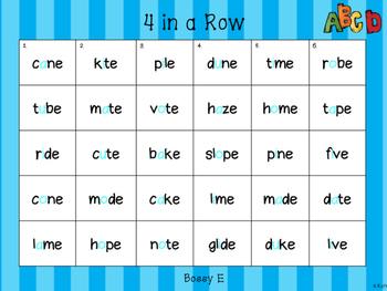Spelling Activity (Bossy E)