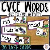 Bossy E - CVC to CVCe matching activity