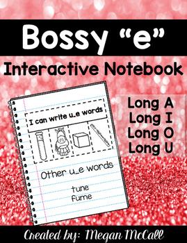 "Bossy ""E"" Interactive Notebook"