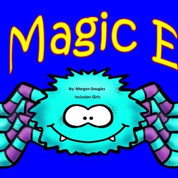 Bossy E/ Magic E CVCe Halloween Themed