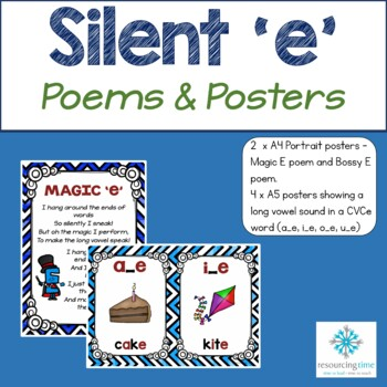 Bossy E / Magic E Poems and Posters