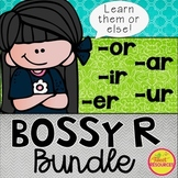 Bossy R Phonics NO PREP Printables BUNDLE