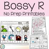 Bossy R No Prep Activities: Phonics Worksheets 2nd Grade M