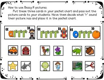 Bossy R (A Pocket Chart Activity)