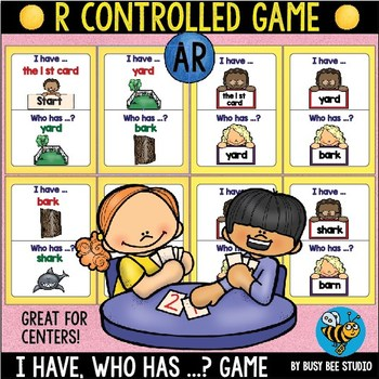 Bossy R  Game: I have, who has ... -AR-