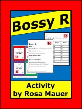 Bossy R AR Task Cards