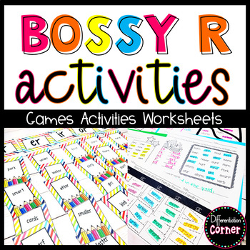 Bossy R Activity Pack