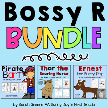 Bossy R BUNDLED! {3 packs!}