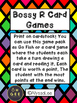 Bossy R Card Games- Orton Gillingham Aligned