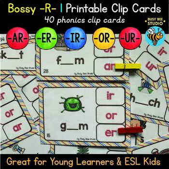 Bossy R Clip Cards