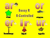 Bossy R-Controlled Poster Anchor Chart AR OR IR ER UR AIR ARE ORE