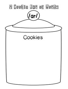 Bossy R Cookie Jar - freebie