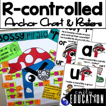Bossy R: Activities and PowerPoint for Teaching R Controlled Vowels