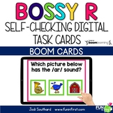 Bossy R - Digital Task Cards | Boom Cards | Distance Learning