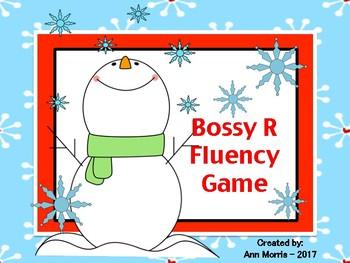 Bossy R Fluency Game