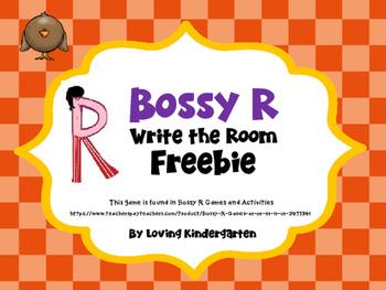 Bossy R Freebie