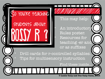 *FREEBIE* Bossy R Resource Preview
