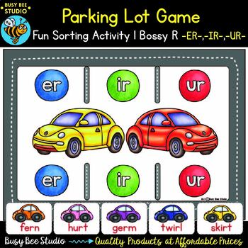 Bossy R Game: Parking Lot (ir, ur, er)