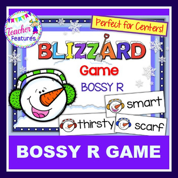 Winter Activities & Polar Bear Games BOSSY R / R-CONTROLLED VOWELS