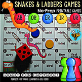 Bossy R Game: Snakes and Ladders (ar, er, ir, or, ur)
